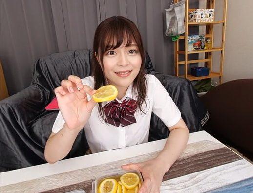 レモンをあ~ん
